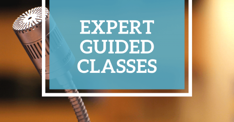 Get monthly expert guided video classes